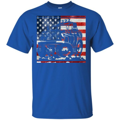 American flag and jeep lover t-shirt