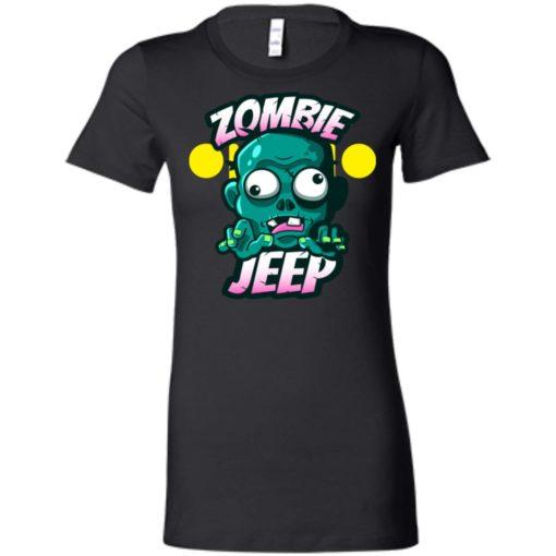 Zombie jeep women tee