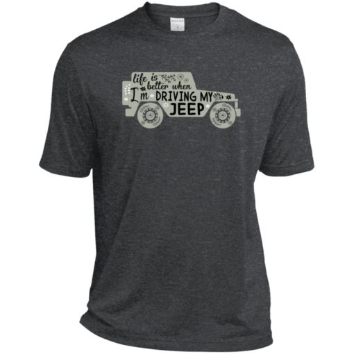 Life is better when i'm driving my jeep sport t-shirt