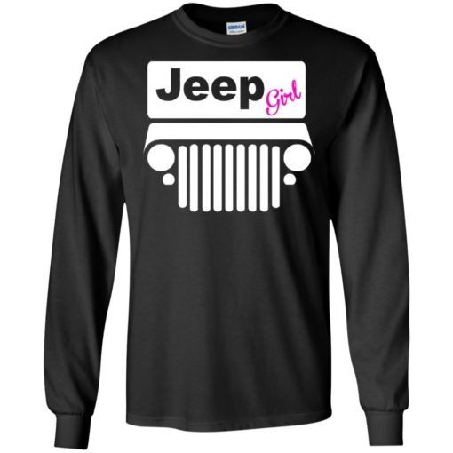 Jeep girl long sleeve