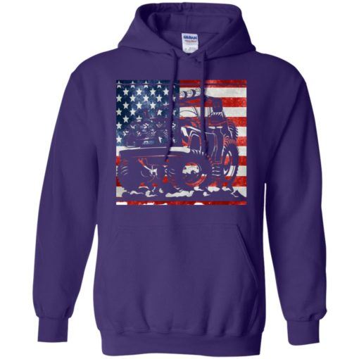 American flag and jeep lover hoodie
