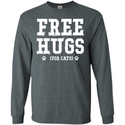 Free hugs for cats long sleeve