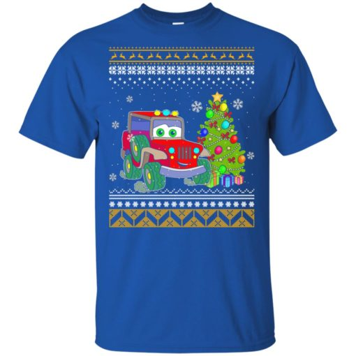 Merry jeepmas and happy new year jeep lover t-shirt