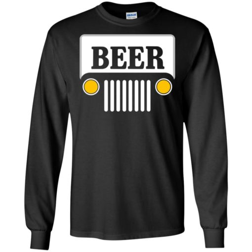 Beer jeep road trip long sleeve