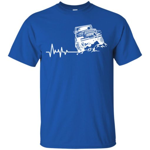 Unlimited heartbeat love jeep shirt jeep lover driver owner addicted t-shirt