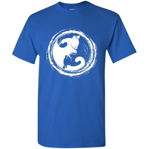 Cat yin yang gift for cat lover cats owner t-shirt