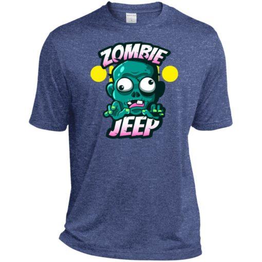 Zombie jeep sport t-shirt