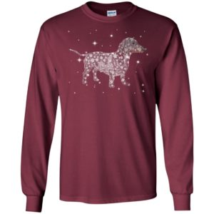 Dachshund stars night cool galaxy pattern protect dog lover long sleeve