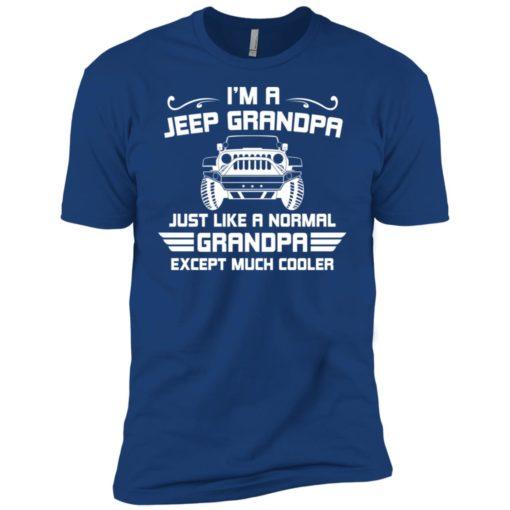 Jeep grandpa much cooler premium t-shirt