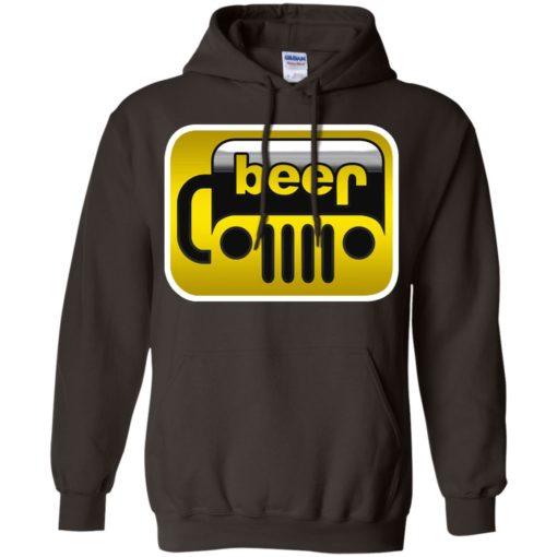 Beer jeep hoodie