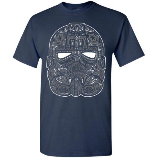 Mexican skull art 9 skeleton face day of the dead dia de los muertos t-shirt