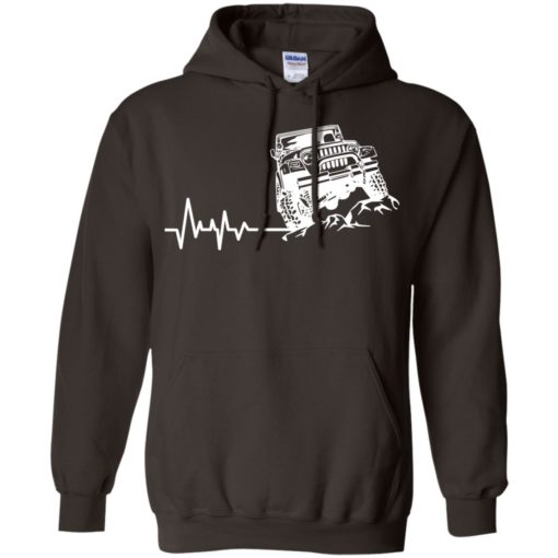Unlimited heartbeat love jeep shirt jeep lover driver owner addicted hoodie