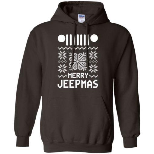 Merry jeepmas ugly christmas hoodie