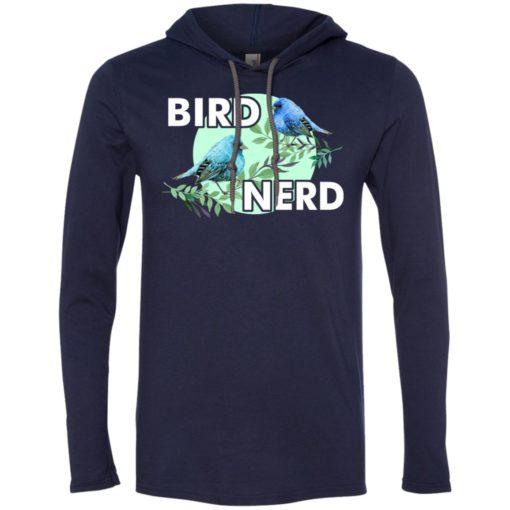 Lover bird nerd funny bird watching gift long sleeve hoodie