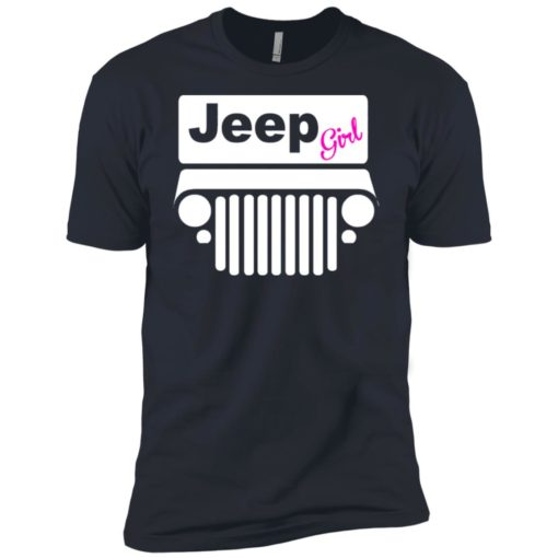 Jeep girl premium t-shirt