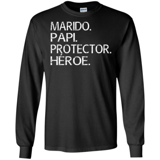 Marido papi protector heroe long sleeve