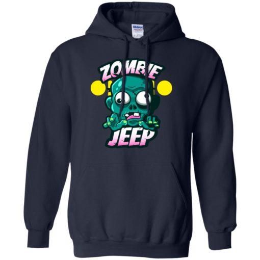 Zombie jeep hoodie