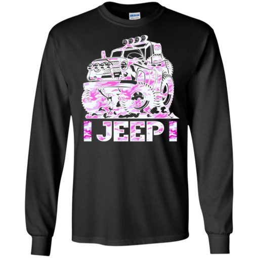 Jeep girl pink long sleeve