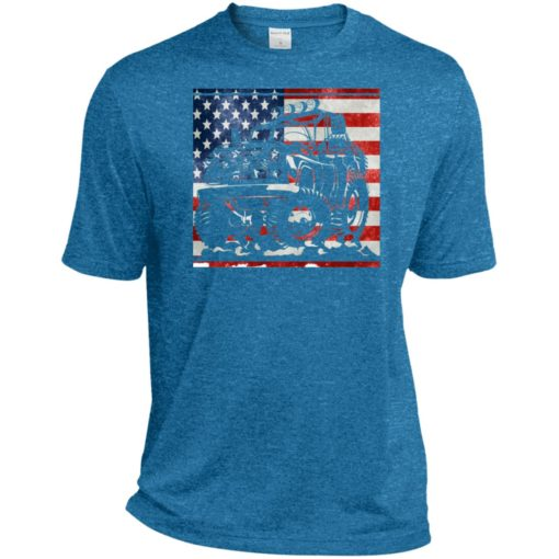 American flag and jeep lover sport t-shirt
