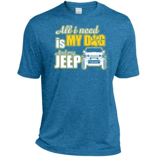 All i need is my dog and my jeep sport t-shirt