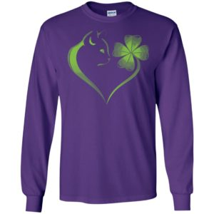 Cat heart irish long sleeve