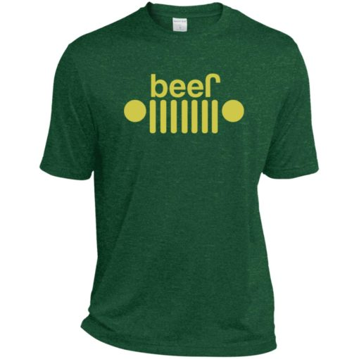 Jeep and beer lover sport t-shirt