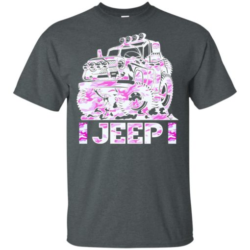 Jeep girl pink t-shirt
