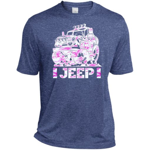Jeep girl pink sport t-shirt
