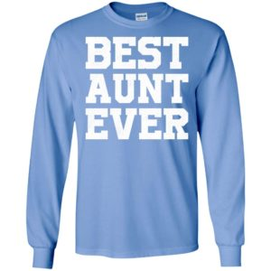 Best aunt ever new novelty long sleeve