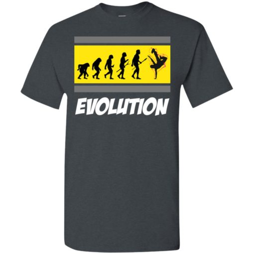 Break dancers gift tee evolution of dancing t-shirt