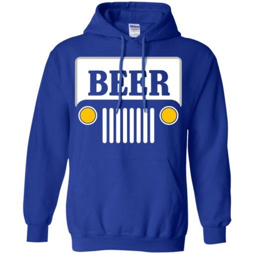 Beer jeep road trip hoodie