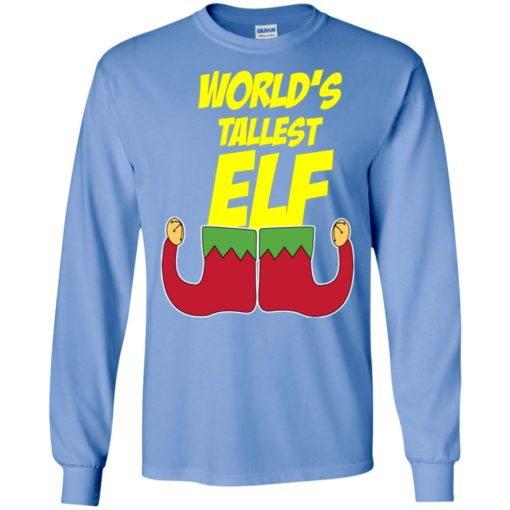 World's tallest elf – funny christmas long sleeve