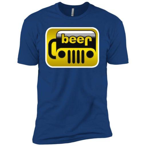 Beer jeep premium t-shirt