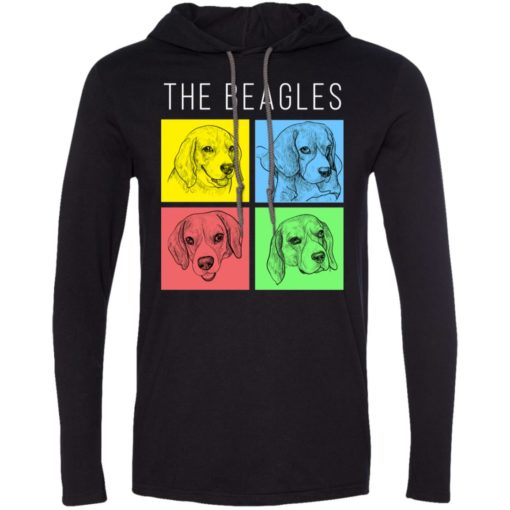 Dog lovers gift the beagles style long sleeve hoodie
