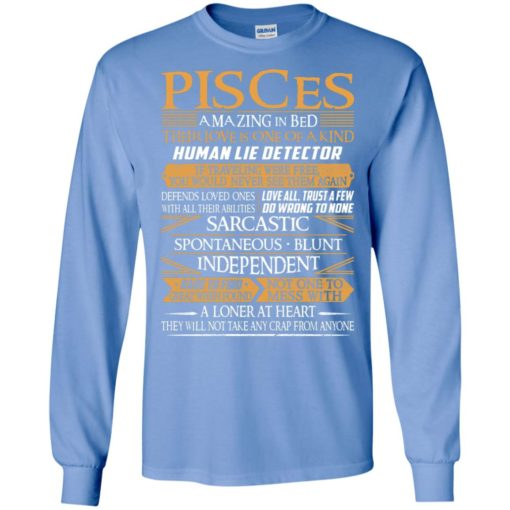 Pisces amazing in bed their love is one of a kind long sleeve