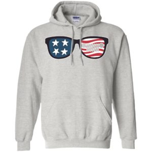 American flag and jeep sunglasses patriotic memorial 4th july gift hoodie
