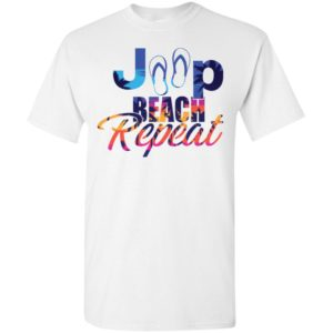 Jeep beach repeat funny jeep life lover summer gift t-shirt
