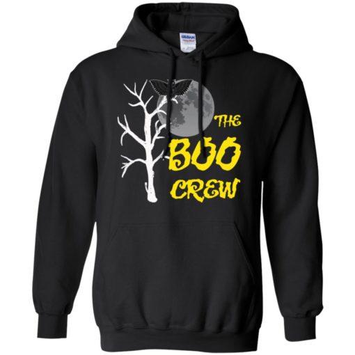 The boo crew night art funny halloween gift hoodie