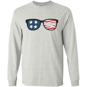 American flag and jeep sunglasses patriotic memorial 4th july gift long sleeve